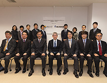 Ceremony for the opening of the collaborative research room shared by RIKEN Center for Brain Science (CBS) and the Graduate School of Medicine of The University of Tokyo